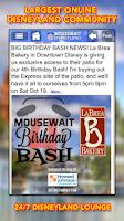 Screenshot of Disneyland MouseWait FREE