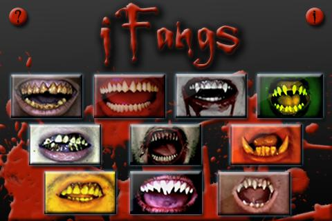 iFangs- screenshot
