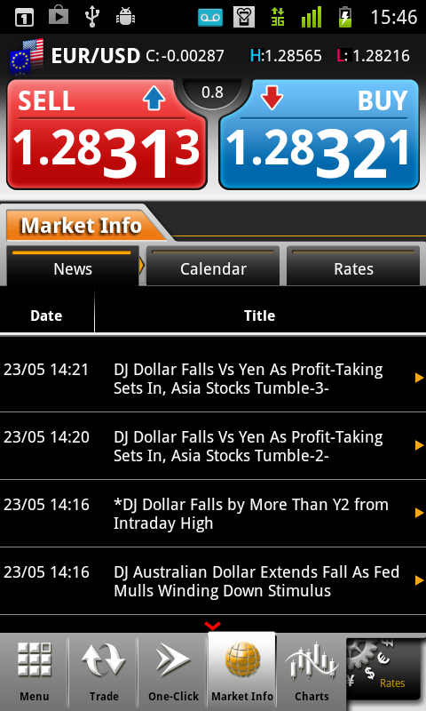 Z.com Trader Mobile- screenshot
