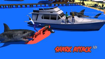 Screenshot of Shark Attack 3D Simulator