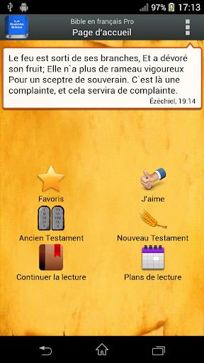 Bible Louis Segond PRO