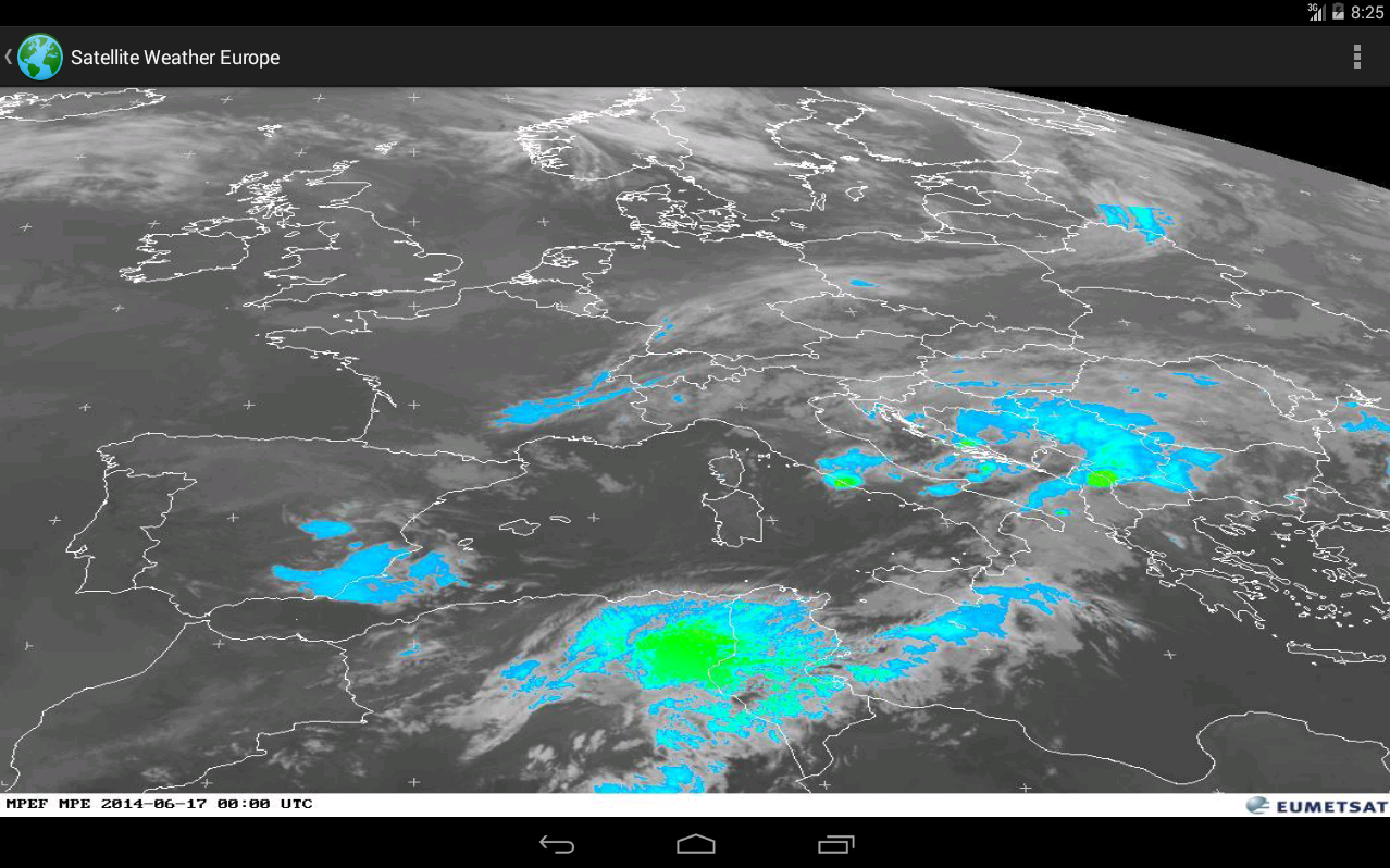 Satellite Weather Europe Android Apps On Google Play - Real time satellite view