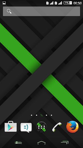 eXPERIAnz Theme X-Green Dark
