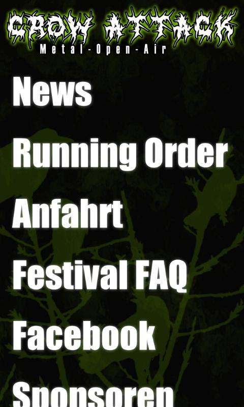 Crow Attack Festival- screenshot