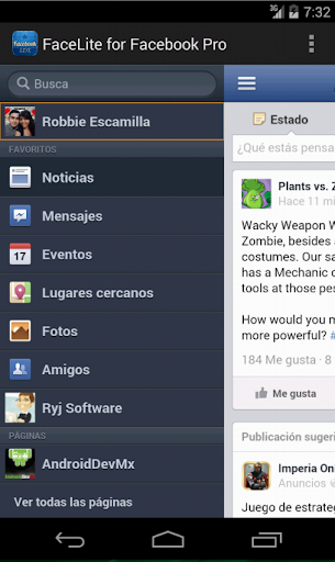 【免費通訊App】Lite WebApp Pro For FB-APP點子
