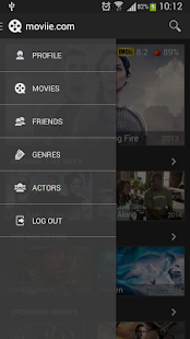 Movie Discovery by moviie.com - screenshot thumbnail