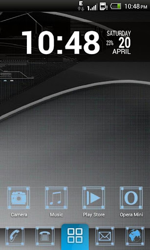 Hi-Fi HD Theme Go Launcher EX