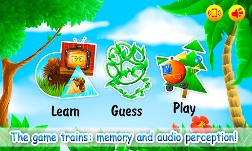 Learn Shapes for Kids, Toddlers - Educational Game- screenshot thumbnail