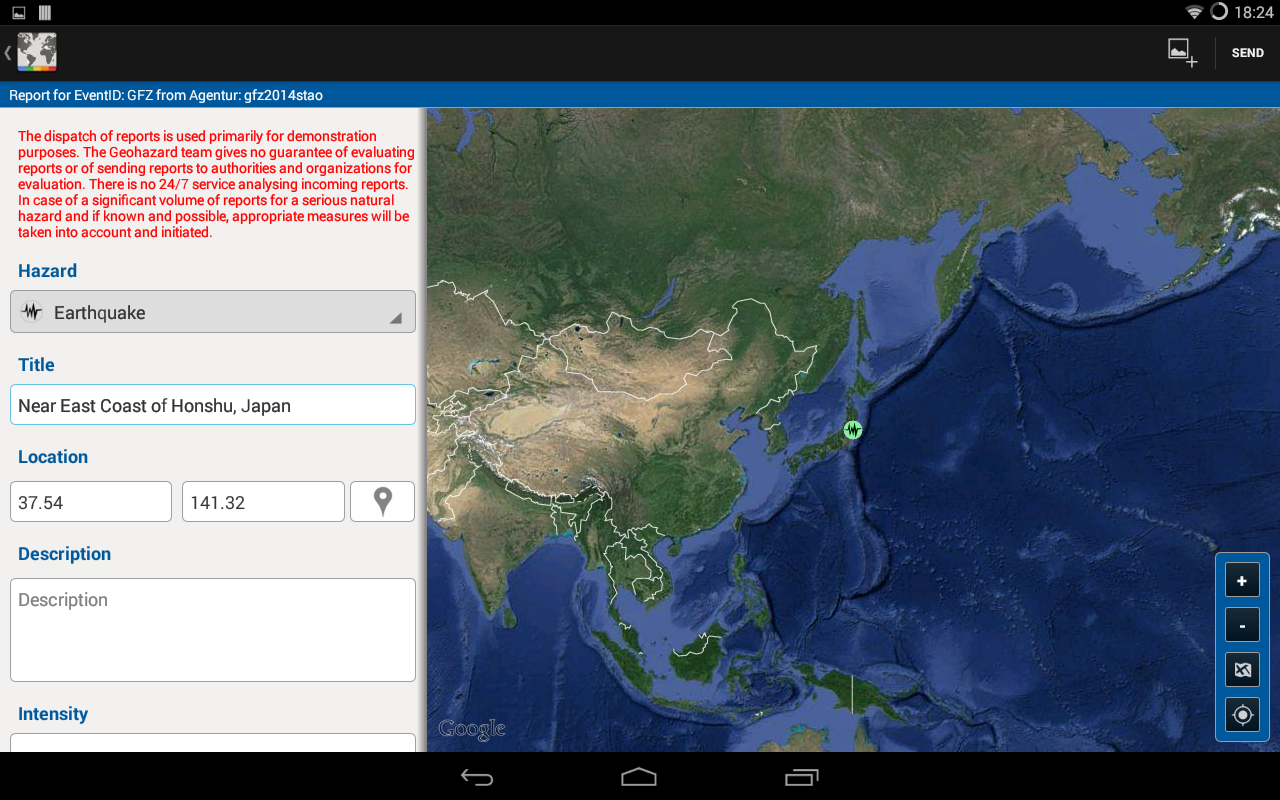 Geohazard - Natural Hazards- screenshot