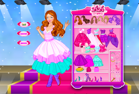 Popstar Princess Dress Up - screenshot