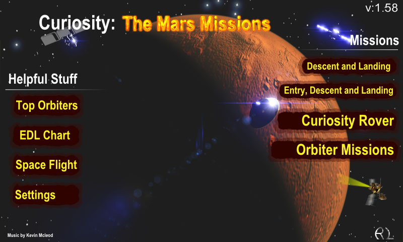 Curiosity: The Mars Mission - screenshot