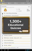 Screenshot of JogNog - Test Prep Quizzes