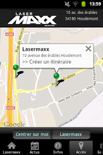 Lasermaxx Nancy Houdemont - screenshot thumbnail