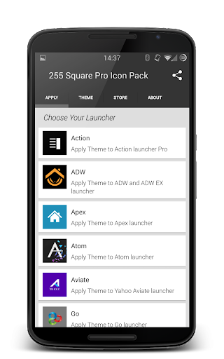 255 Square Pro Icon Pack