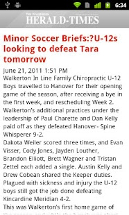 Walkerton Herald-Times- screenshot thumbnail