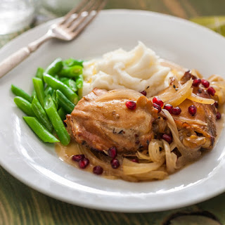 Pomegranate Honey Chicken