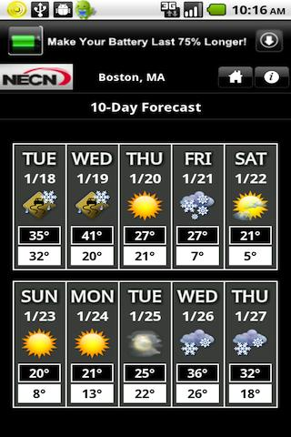 NECN WX - screenshot