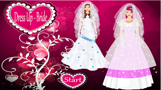 Dress up - Bride game - screenshot thumbnail