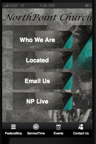 North Point Church - screenshot