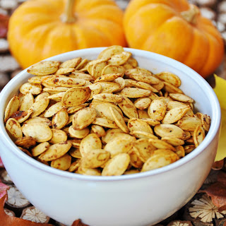 Spicy Roasted Pumpkin Seeds
