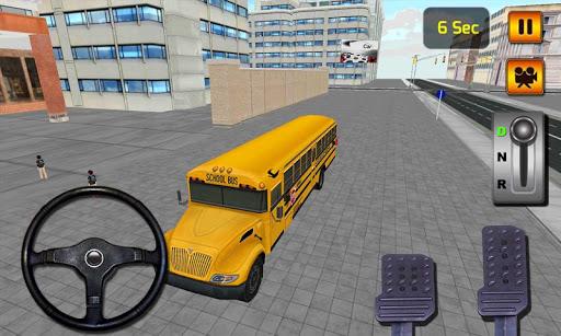 3Dスクールバスドライブシミュレータ