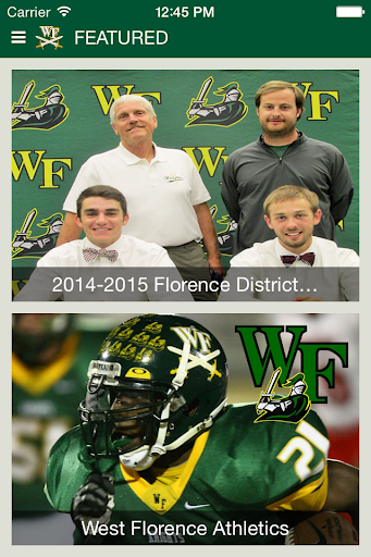 West Florence High School SC