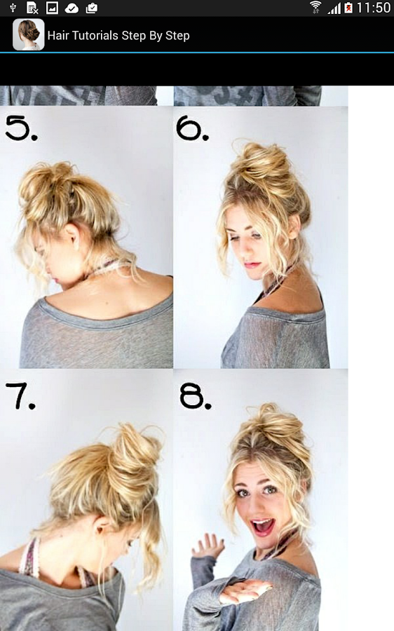 Fantastic Hair Tutorials Step By Step Android Apps On Google Play Hairstyles For Women Draintrainus
