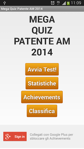 Mega Quiz Patentino AM 2014