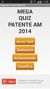 Mega Quiz Patentino AM 2014- screenshot thumbnail