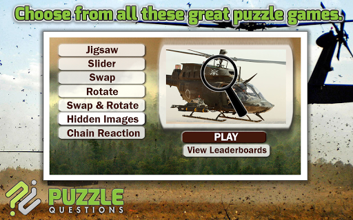 Helicopter Puzzles