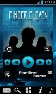 PowerAmp Fresh Widget Pack - screenshot thumbnail