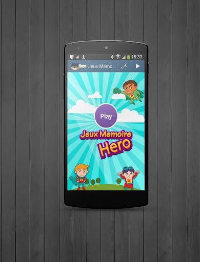 Jeux Mémoire pour Enfants Hero