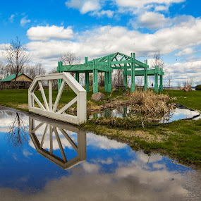 Very beautiful park in Pembroke, Ontario, Canada by Faisal Abuhaimed - City,  Street & Park  City Parks ( color, colors, landscape, portrait, object, filter forge )