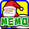 Memo Pad Widget Santa Claus icon