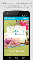 Screenshot of Free Prints - Photos Gratuites