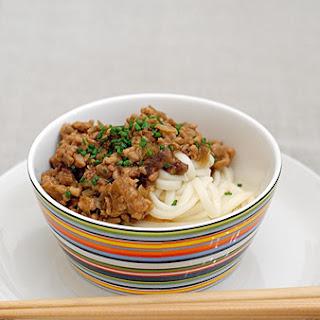 Simple Minced Pork Noodles