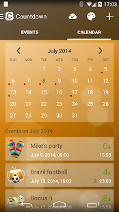 Countdown Days - App & Widget - screenshot thumbnail