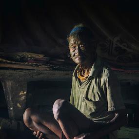 retired warrior by Priyojit Singh Akoijam - People Portraits of Men