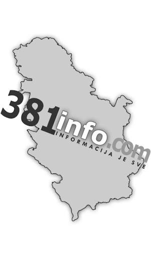 381info Vodič kroz Srbiju