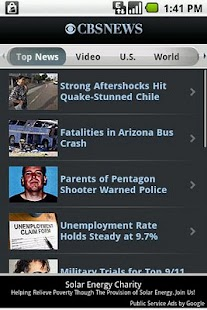 CBS News - screenshot thumbnail