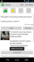 Screenshot of Jokester Jokes