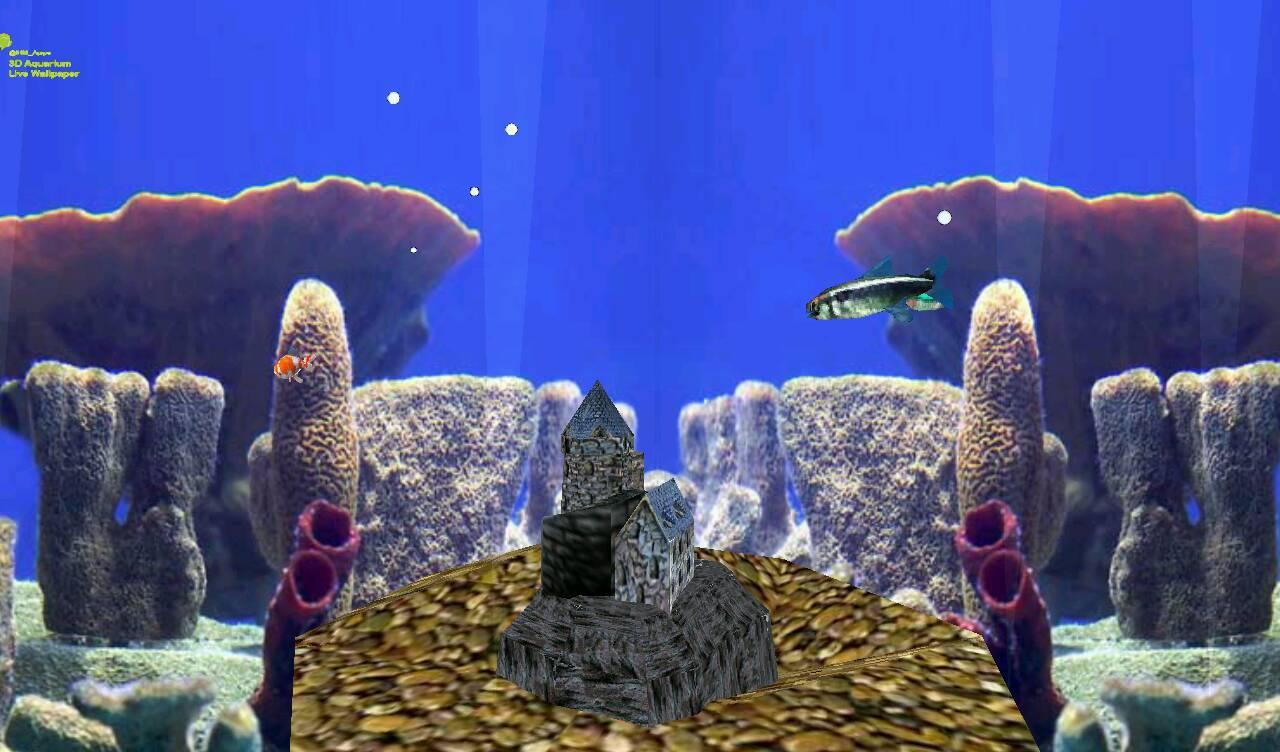 3d aquarium live wallpaper android apps on google play for Live fish tank