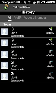 iTelHybridDialer- screenshot thumbnail