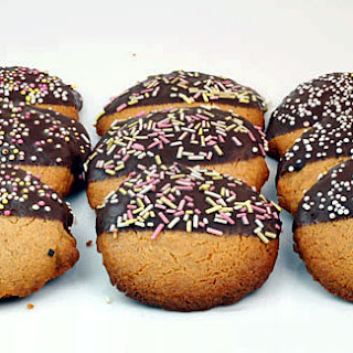 Ginger Shortbread Cookies.