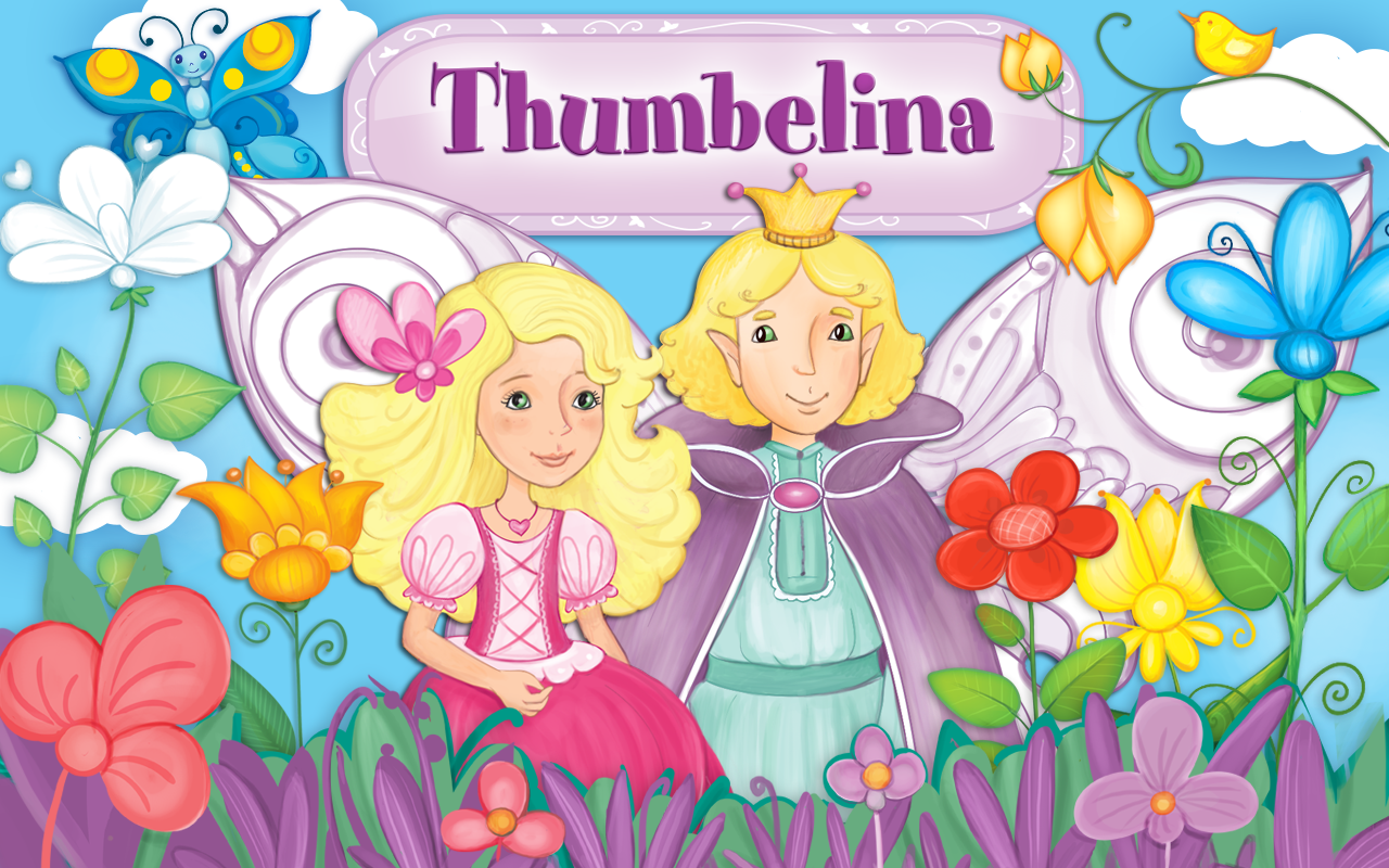 thumbelina free girls games android apps on google play