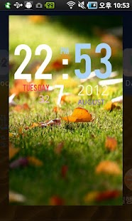 Live Clock Wallpaper - screenshot thumbnail
