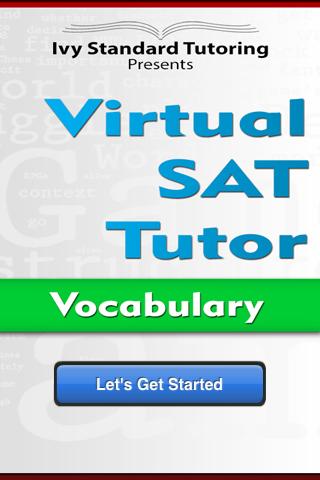 Virtual SAT Tutor - Vocab FULL