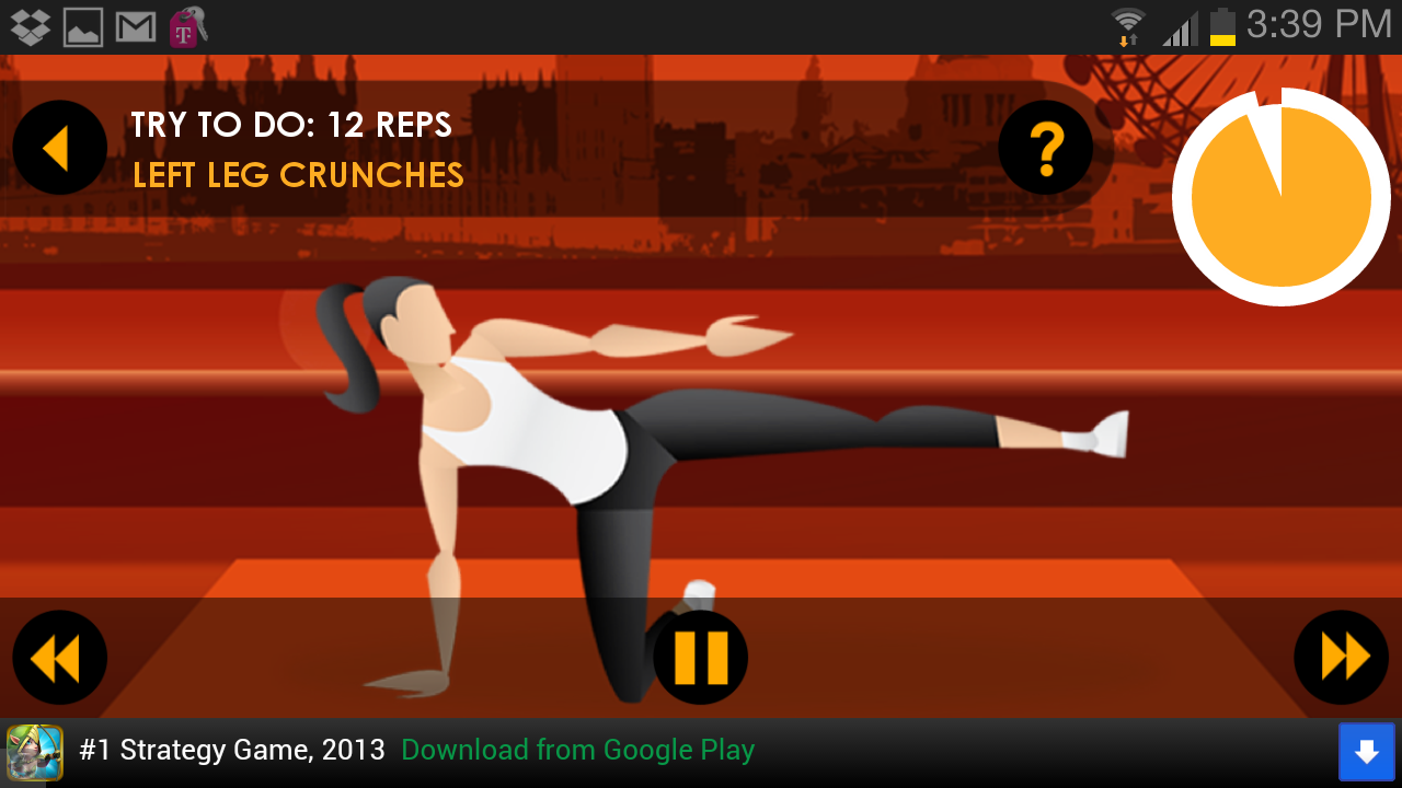 20 Minute Ab Workouts Free- screenshot