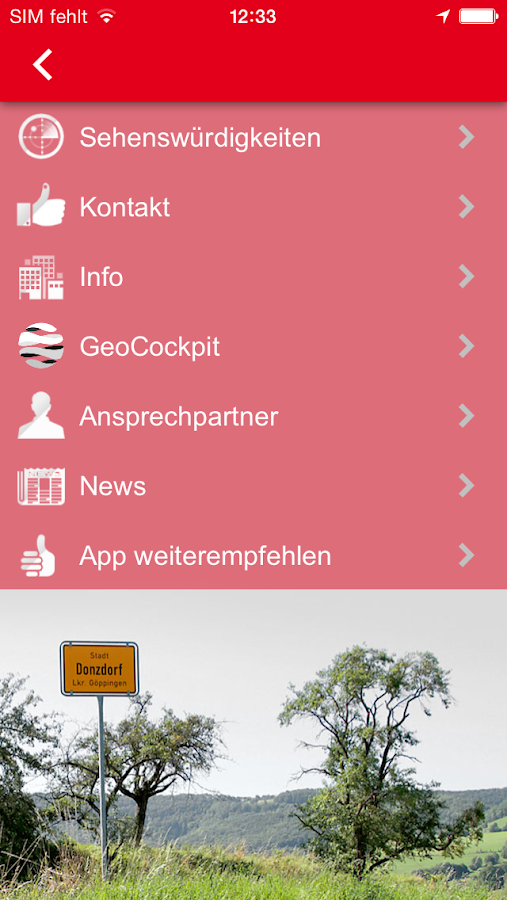 Donzdorf- screenshot