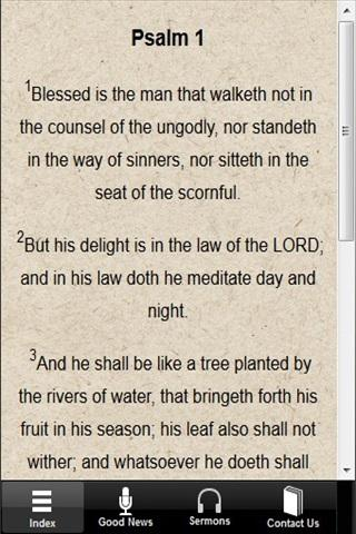 【免費書籍App】Psalm 1 with Commentaries-APP點子